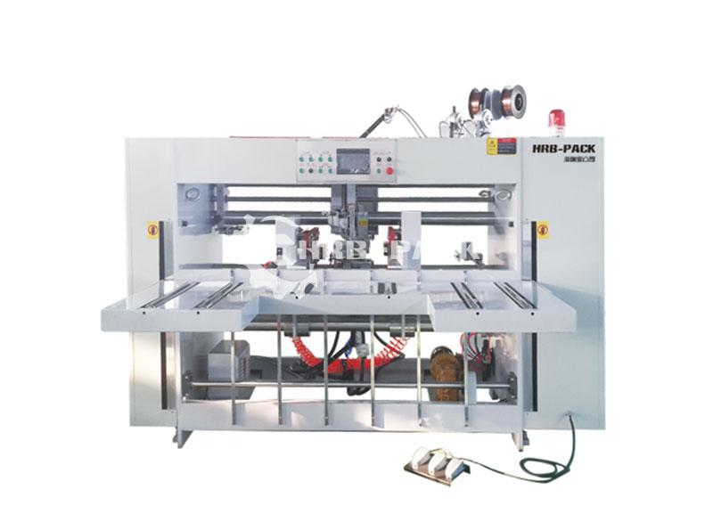 HRB-2000  半自动双片钉箱机
