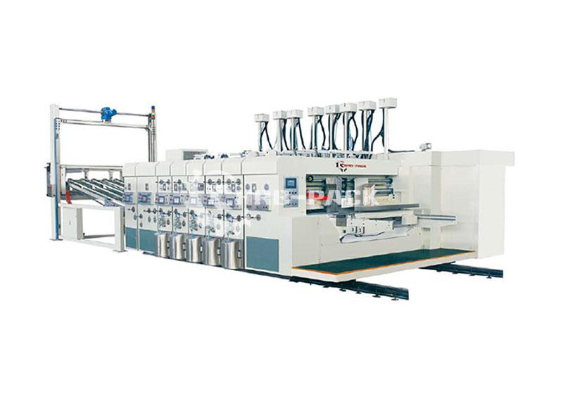HRB-920/1224  自动高速水性印刷开槽模切机