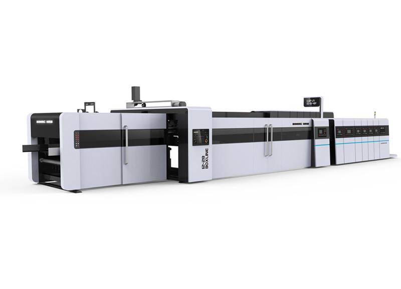 1228 高速伺服印刷粘箱联动线